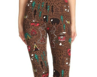 f566b38e7f4924 The Great Outdoors Leggings for Women • Perfect for Camping and Glamping  With Your Dog