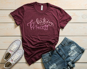 Birthday Princess T-Shirt • Tell The World It's YOUR Special Day!