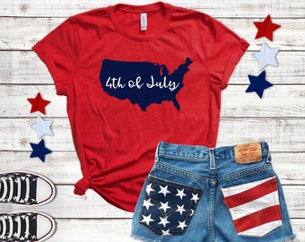 Patriotic 4th Of July Tee • Perfect for Independence Day!