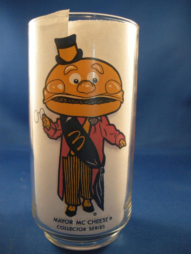 McDonalds' Mayor Mc Cheese Glass image 0