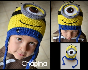 a8965f0a Minion Hat for Children or adults