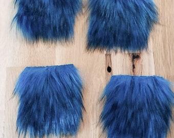 Faux Fur, Diy Faux Fur Squares, Diy Faux Fur poms