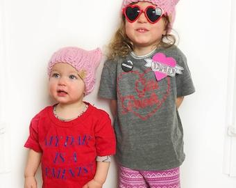 Kids pussy cat hats, Winter hats, Cat hats, Children's pussyhat
