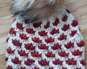 The Lotus Flower Beanie, Warm knit hats, Ski Hats, Mom gifts, Girlfriend gifts, Mothers Day