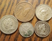 The Americas and Islands Lot of 5- 1904-46 feb