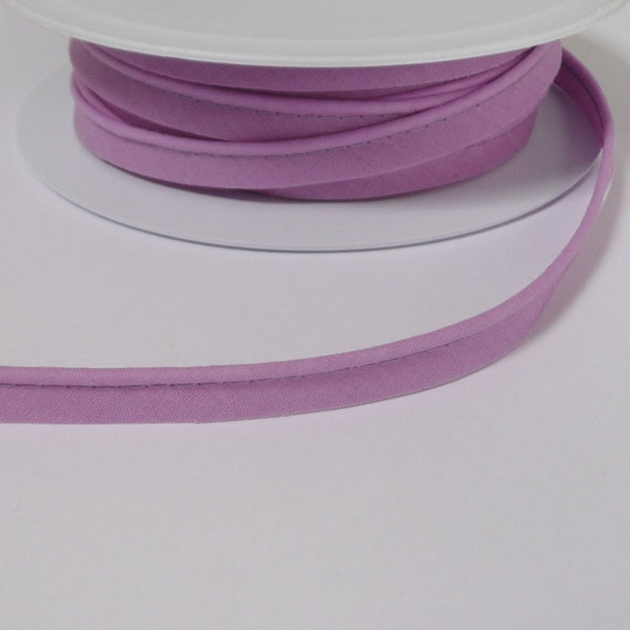 Sold by the Metre Dark Grey flanged 2mm insert piping cord poly cotton bias cut Many Colours