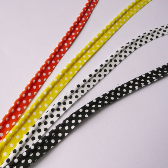 10m Length Of Flanged 2mm insert piping cord black