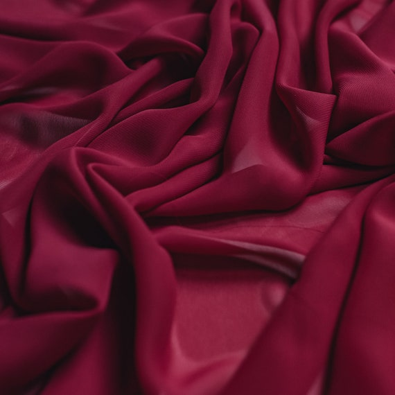 Bright Red 100/% Polyester Satin fabric//material 150cm wide 1 full metre