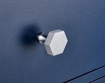 Silver Door Knobs   Etsy