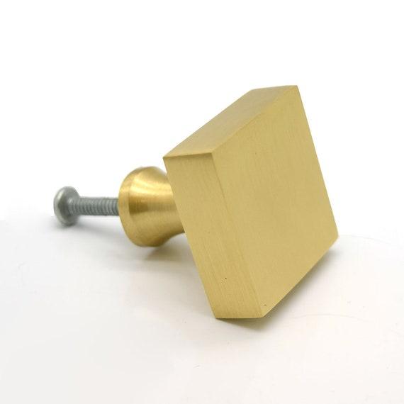 Solid Geborsteld Messing Gouden Kast Deur Knoppen