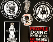 Anxiety Warrior patches  ...