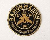 Ramon Maiden embroidered ...