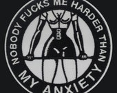 Anxiety Warrior embroider...