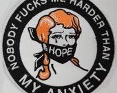 Anxiety Warrior embroider...