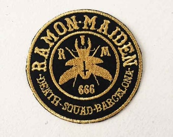 Ramon Maiden embroidered patch