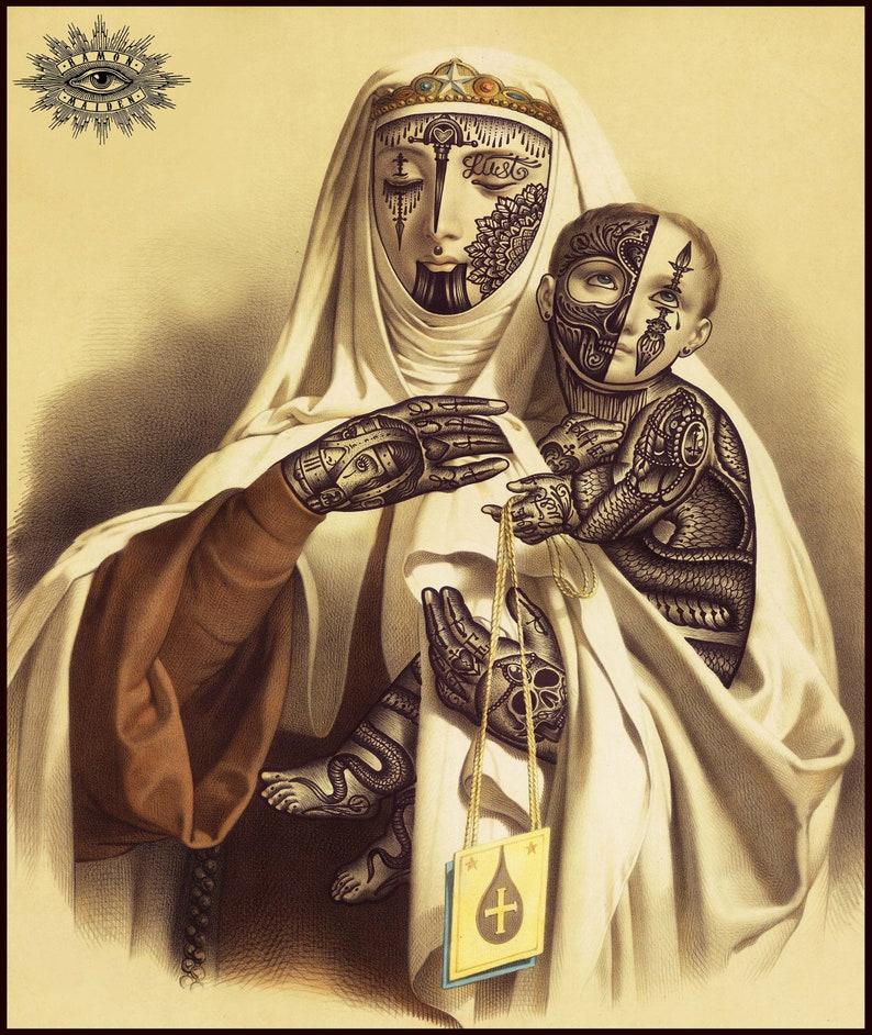 Ramon Maiden limited edition canvas print image 0