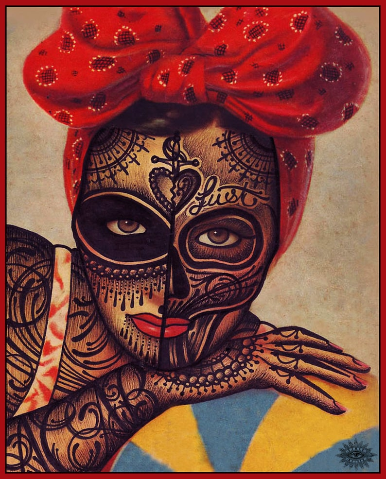 Ramon Maiden limited  numbered and signed prints. image 0