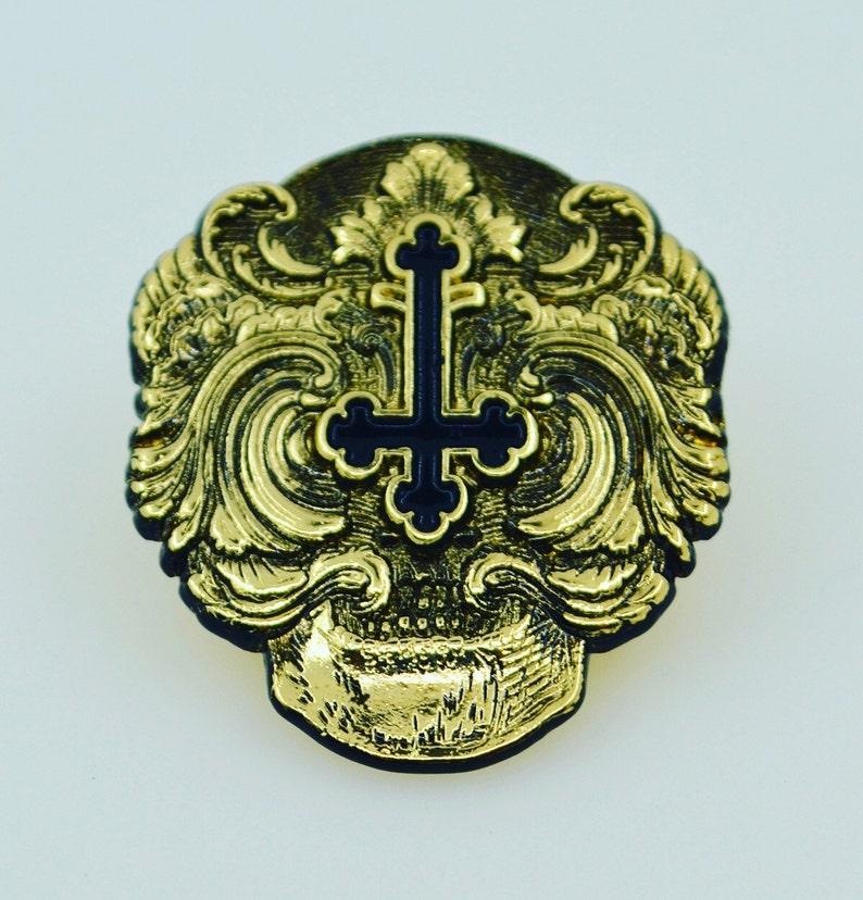 Ramon Maiden limited edition brass finish pins. image 0