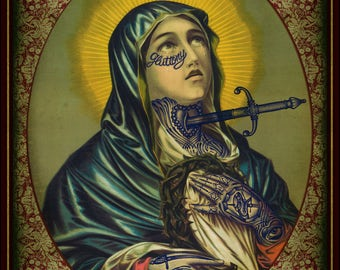 La Dolorosa  Ramon Maiden limited edition print