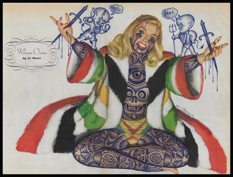 Ramon Maiden original drawing image 0