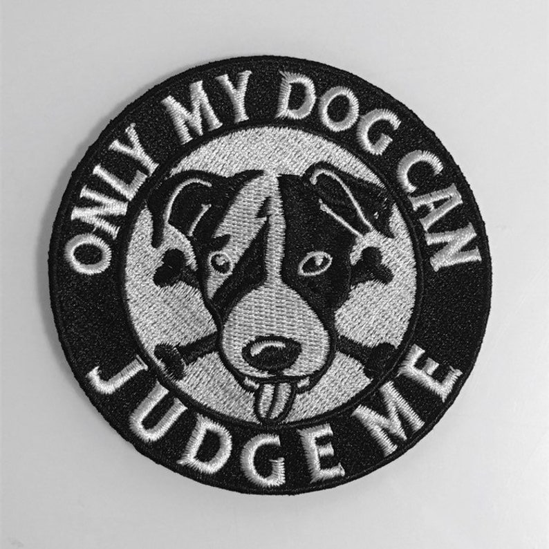 Dog Lover embroidered patch image 0