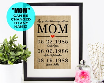 Gift For Mothers Day Etsy