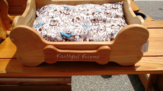 Faithful Friend Dog Bed