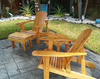 Adirondack Chair Buy one and get a FREE Ottoman or a FREE Side Table