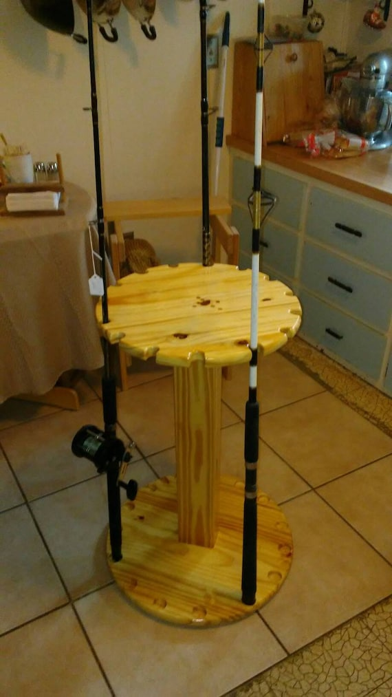 Circlular Fishing Rod Rack
