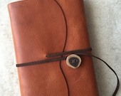 Handmade Leather Refillable Journal