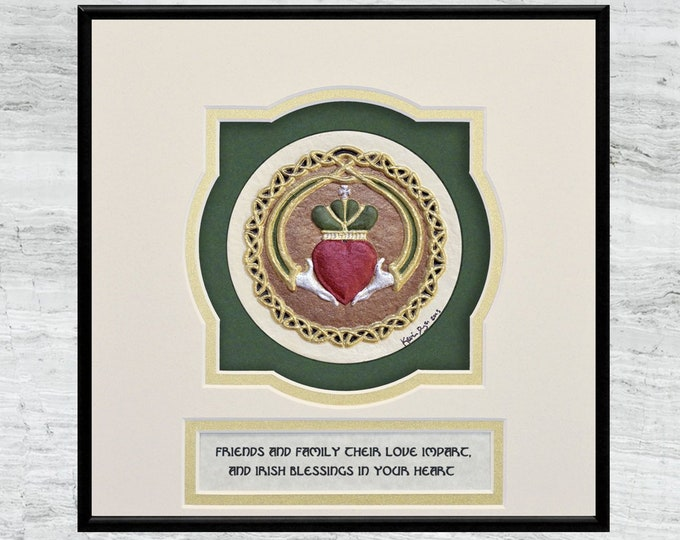 Claddagh - Cast Paper