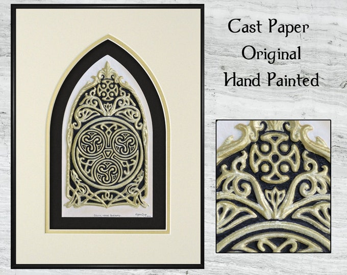 Celtic House Blessing - Cast Paper
