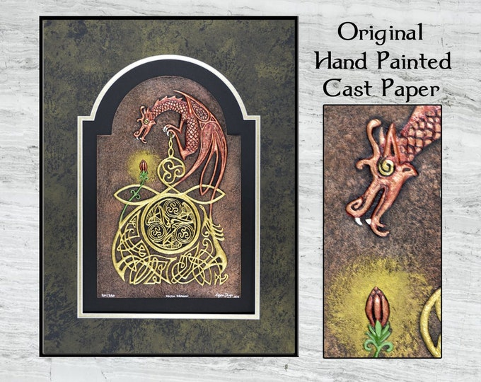 Celtic Dragon - Cast Paper
