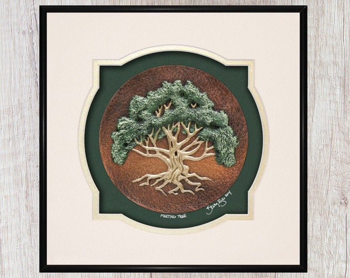 The Meeting Tree - Cast Paper
