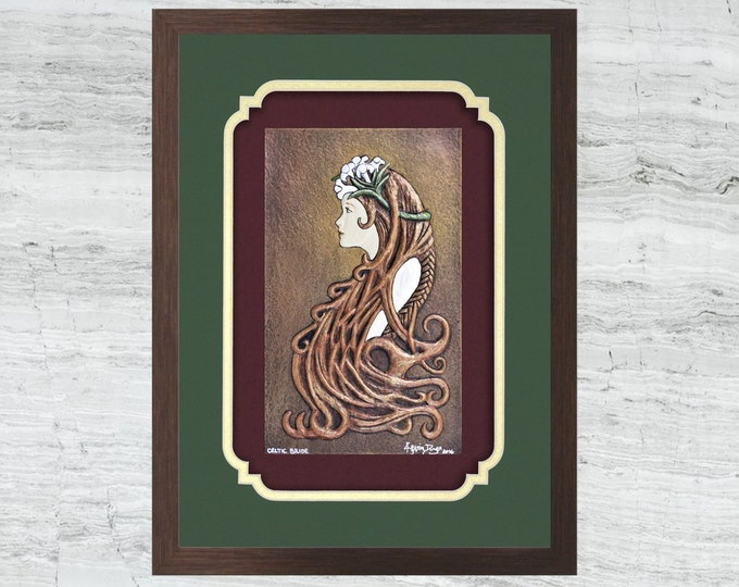 Celtic Bride - Cast Paper