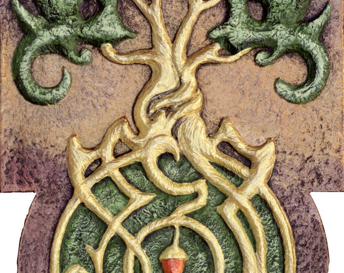 Generations - Cast Paper - Celtic Tree - Tree of life - Acorn - Oak -Fertility - Rebirth