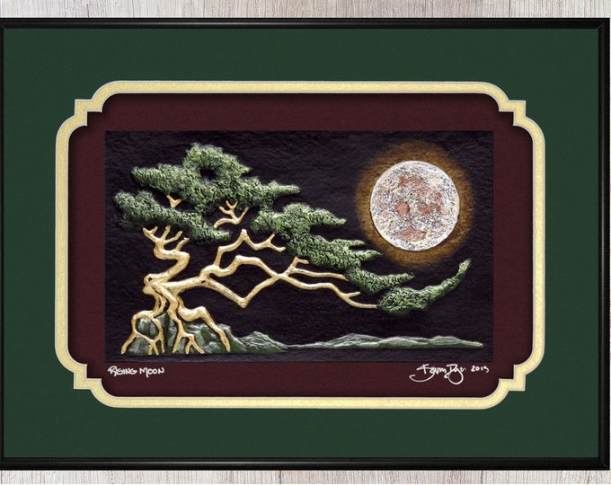 Rising Moon - Cast Paper
