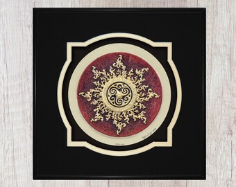 Celtic Sun - Cast Paper