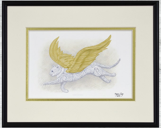 "Flight of Fancy - Framed Digital Print - 10"" x 8"""