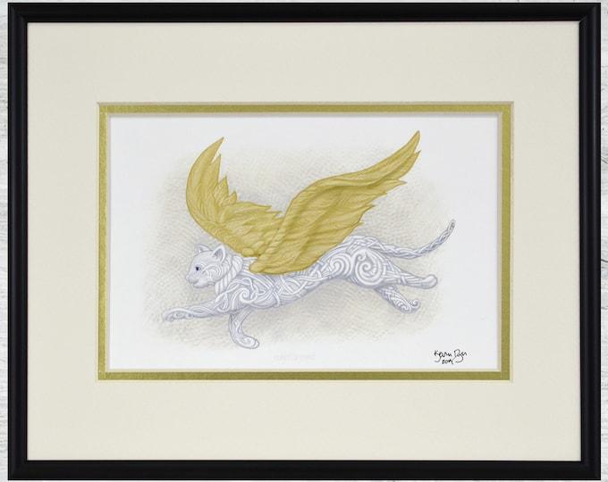 """Flight of Fancy - Framed Digital Print - 10"""" x 8"""""""