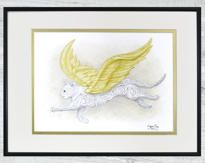 "Flight of Fancy - Framed Digital Print - 12"" x 16"""