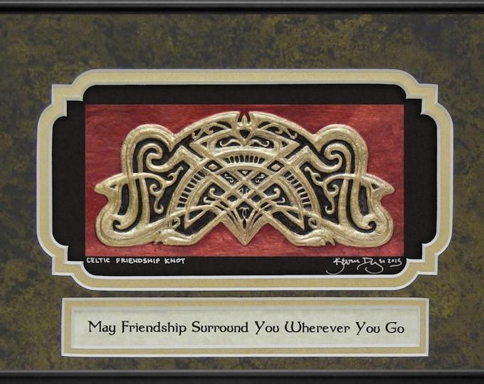 Celtic Friendship Knot - Cast Paper