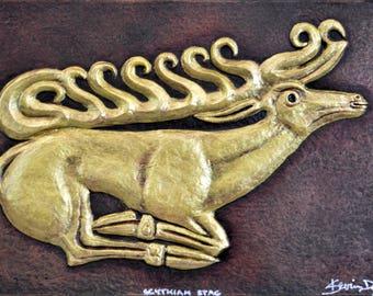 Scythian Stag - Cast Paper