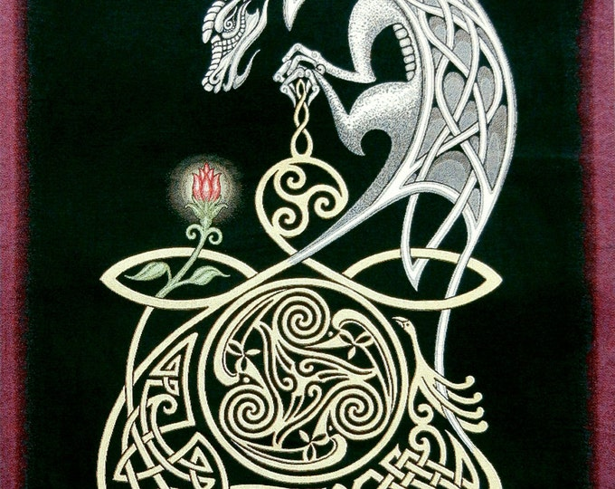 Celtic Dragon Tapestry