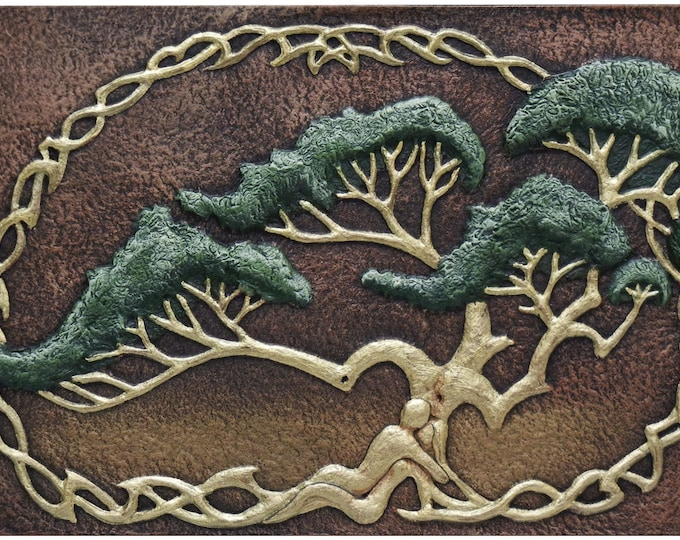 Intertwined - Cast Paper - The Lover's Tree - Fantasy - Romantic - Valentines