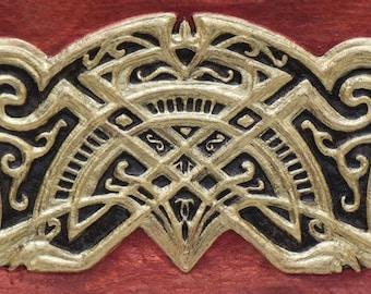 Celtic Friendship Knot - Cast Paper - Irish art - Celtic art - Scottish art - Celtic knot - anamchara - friend gift - deco