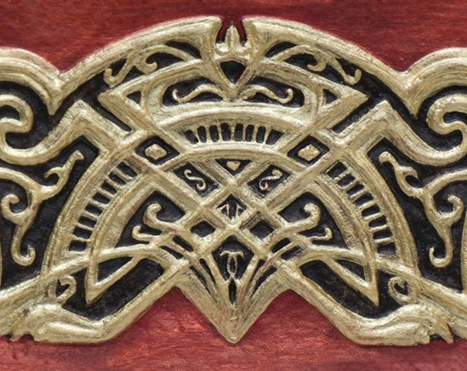 Celtic Friendship Knot - Cast Paper - Irish art - Celtic art - Scottish art - Celtic knot - anamchara - friend gift - deco