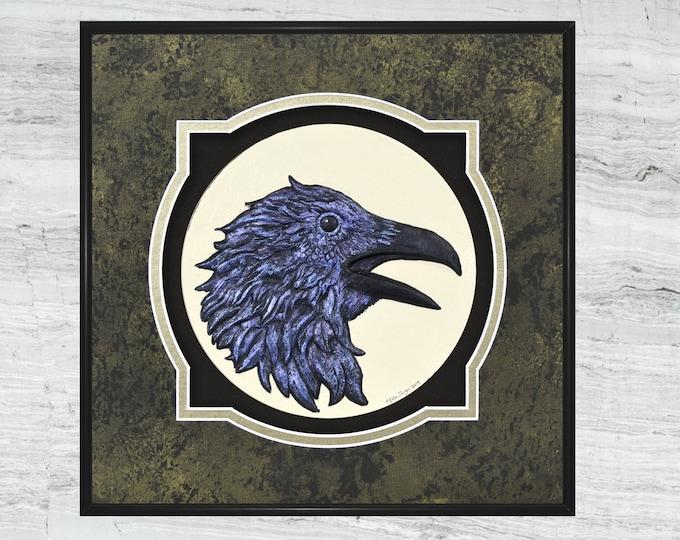 Raven - cast paper original