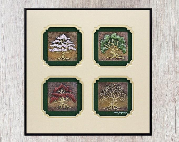 Four Seasons - Cast Paper