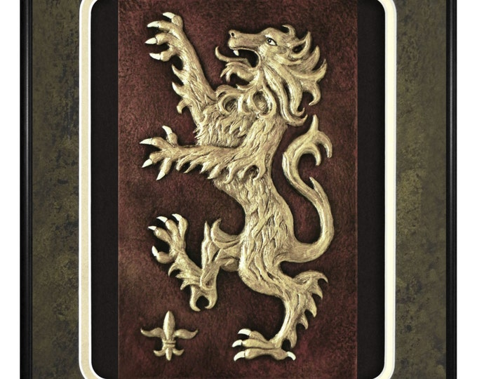 Scottish Lion - Cast Paper
